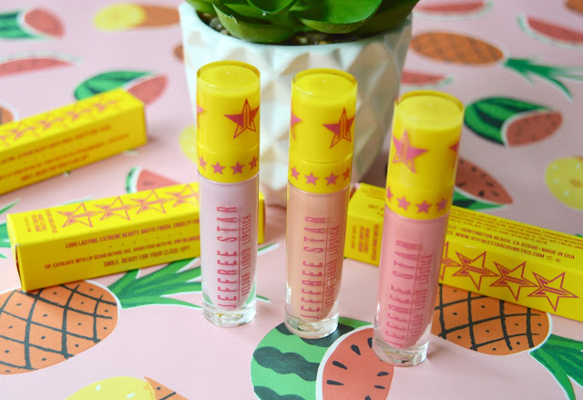 Jeffree Star Summer Lipstick collection