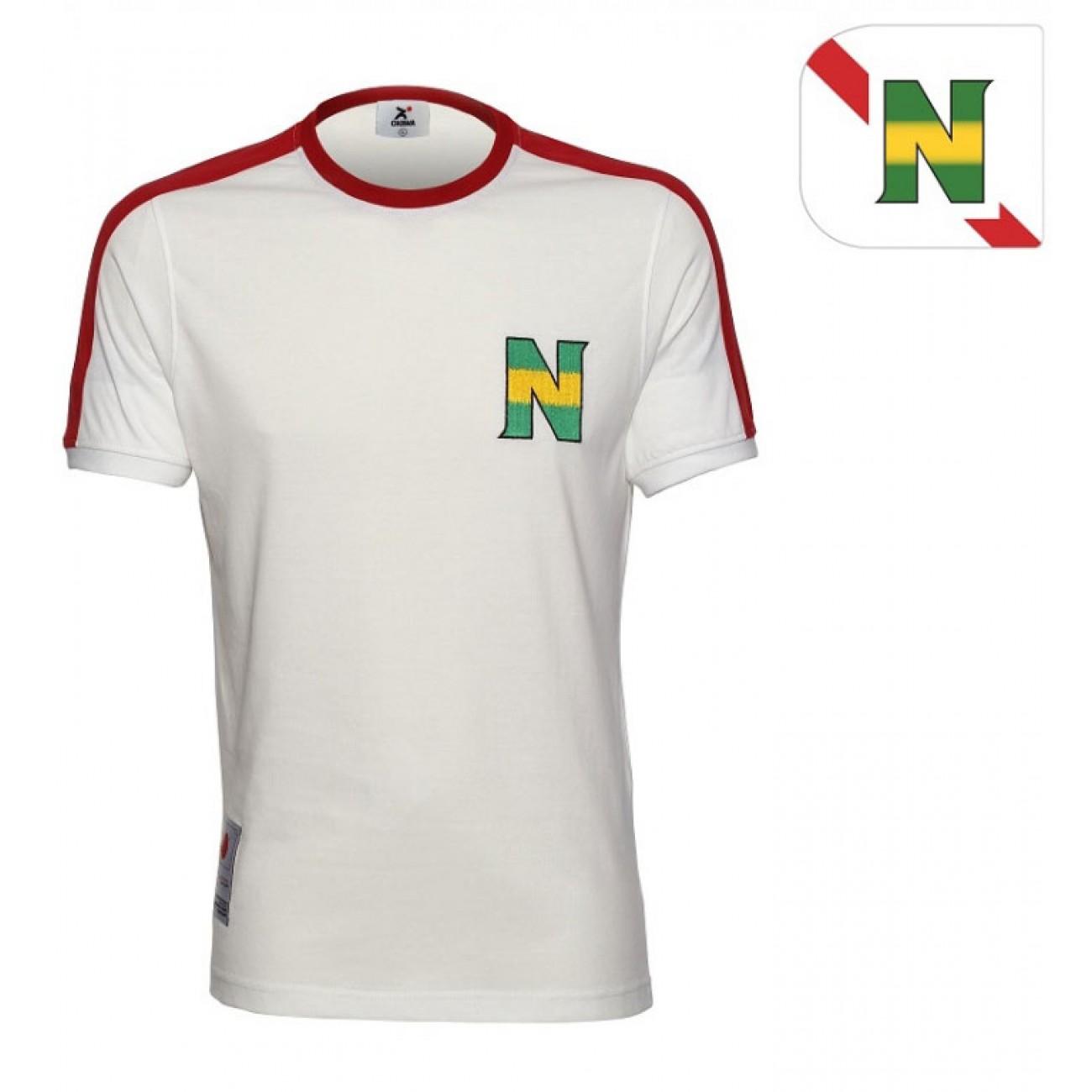 http://www.retrofootball.es/ropa-de-futbol/camiseta-new-team-1985.html