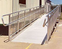Wheelchair ramp, handicap ramp tips and prices