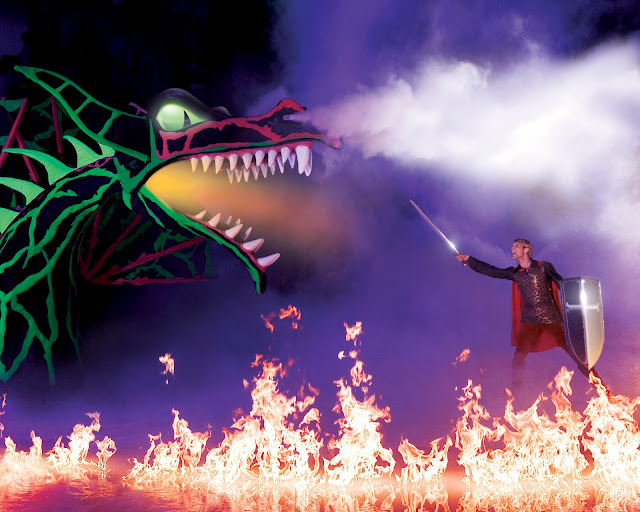 Disney on Ice presents Dream Big review - Dragon