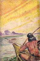 Nos sertões do Araguáia Hermano Ribeiro da Silva Editora Saraiva Coleção Saraiva Setembro de 1948 Capa de Guilherme Walpeteris Literatura Brasileira Contracapa Livro