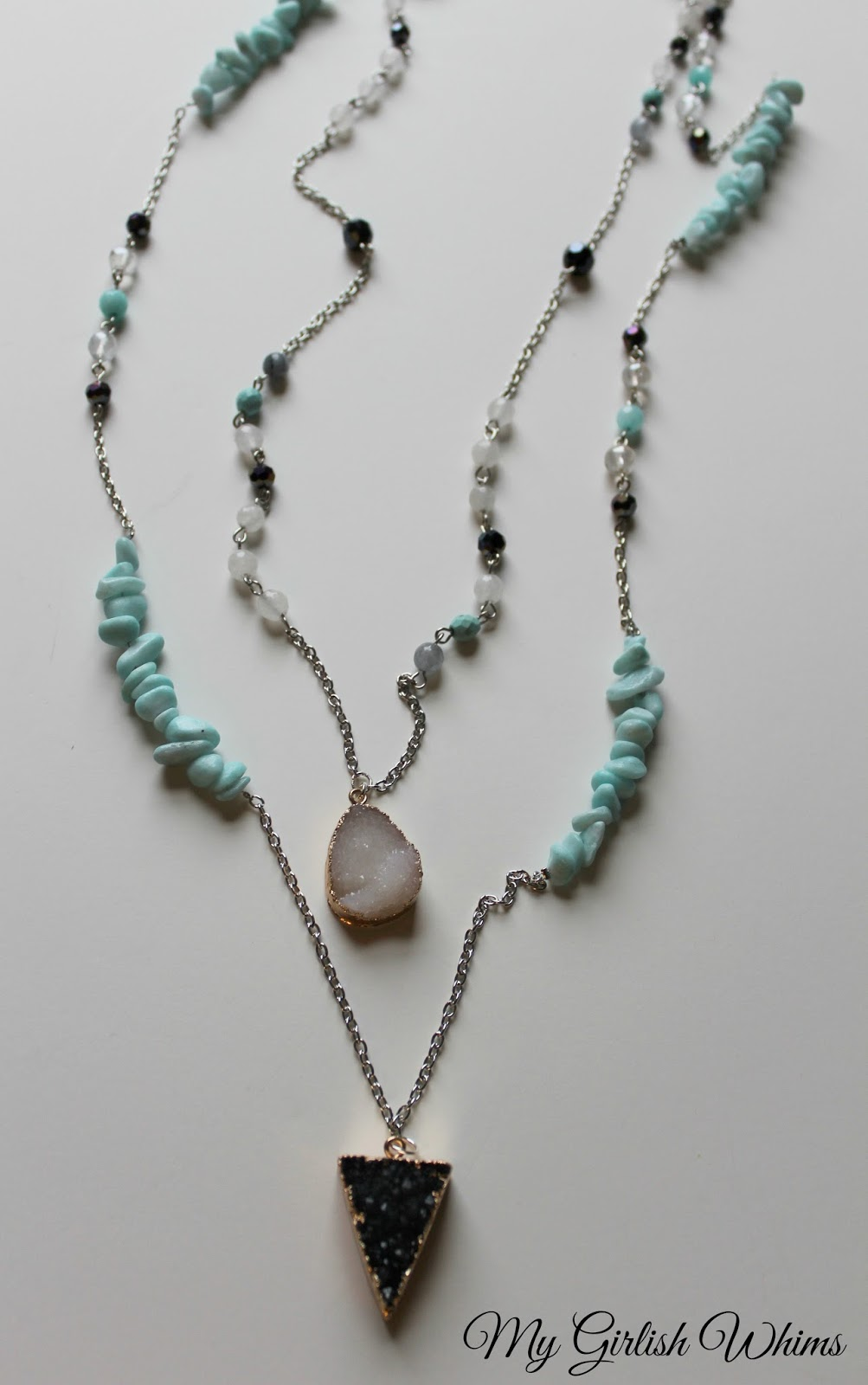 diy boho chain necklace set my girlish whims