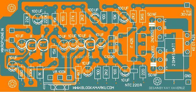 Rangkaian Modulator untuk pemancar 80 Meter Band