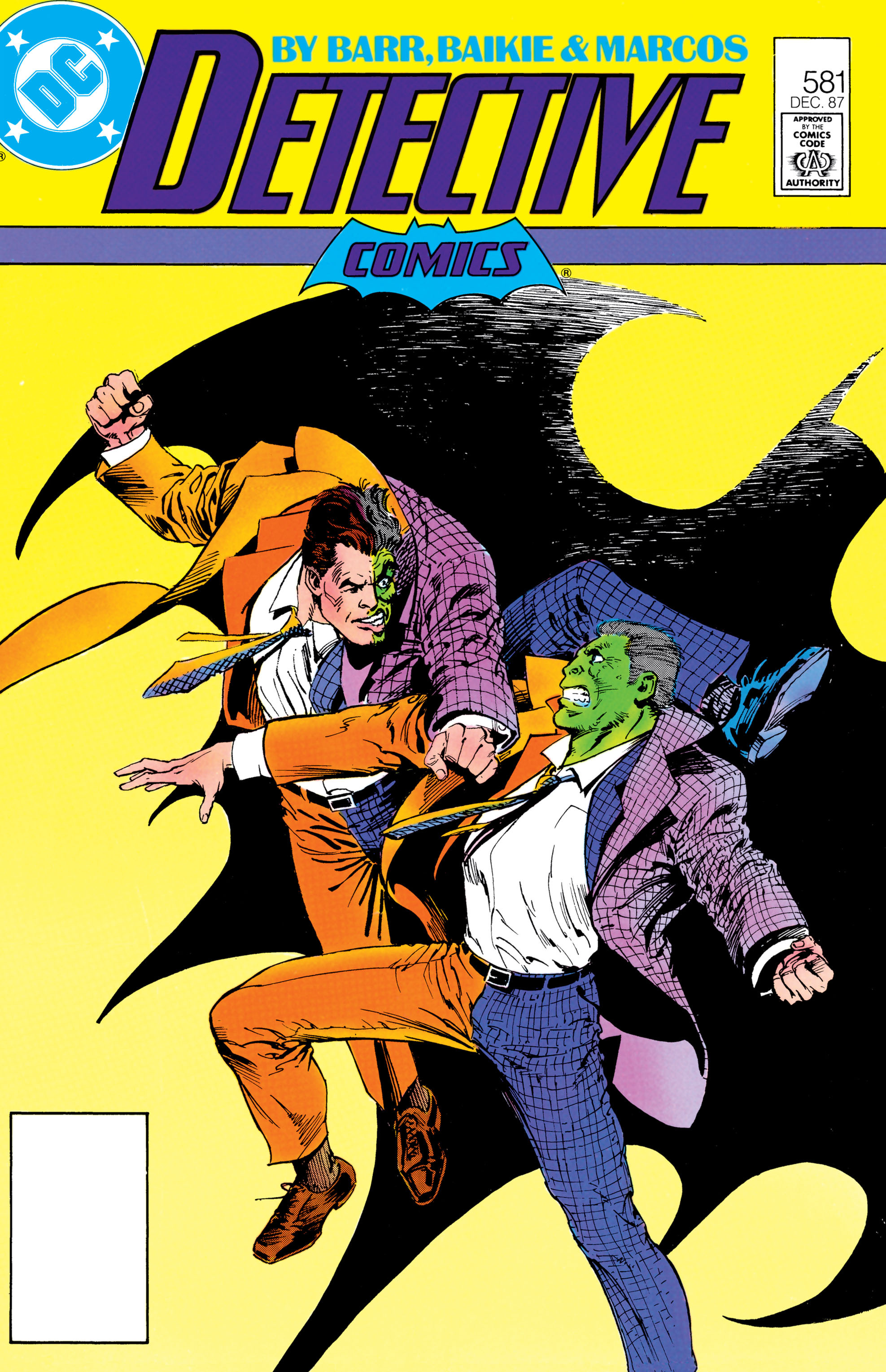 Detective Comics (1937) 581 Page 0