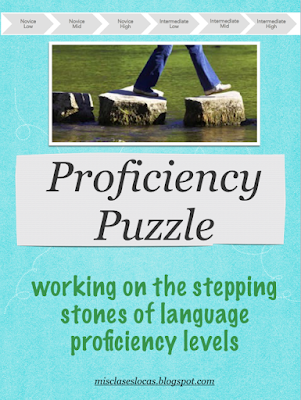 Proficiency Puzzle - for language class - Mis Clases Locas