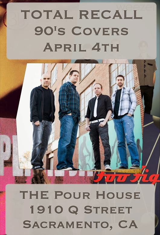 Pour House - Sacramento - April 4th!