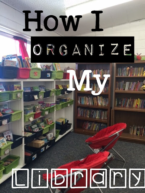 How I Organize My Classroom Library