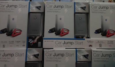 Costco 1750766 - Jump start your car or call for help with the Winplus Car Jump Start & Portable Power Bank