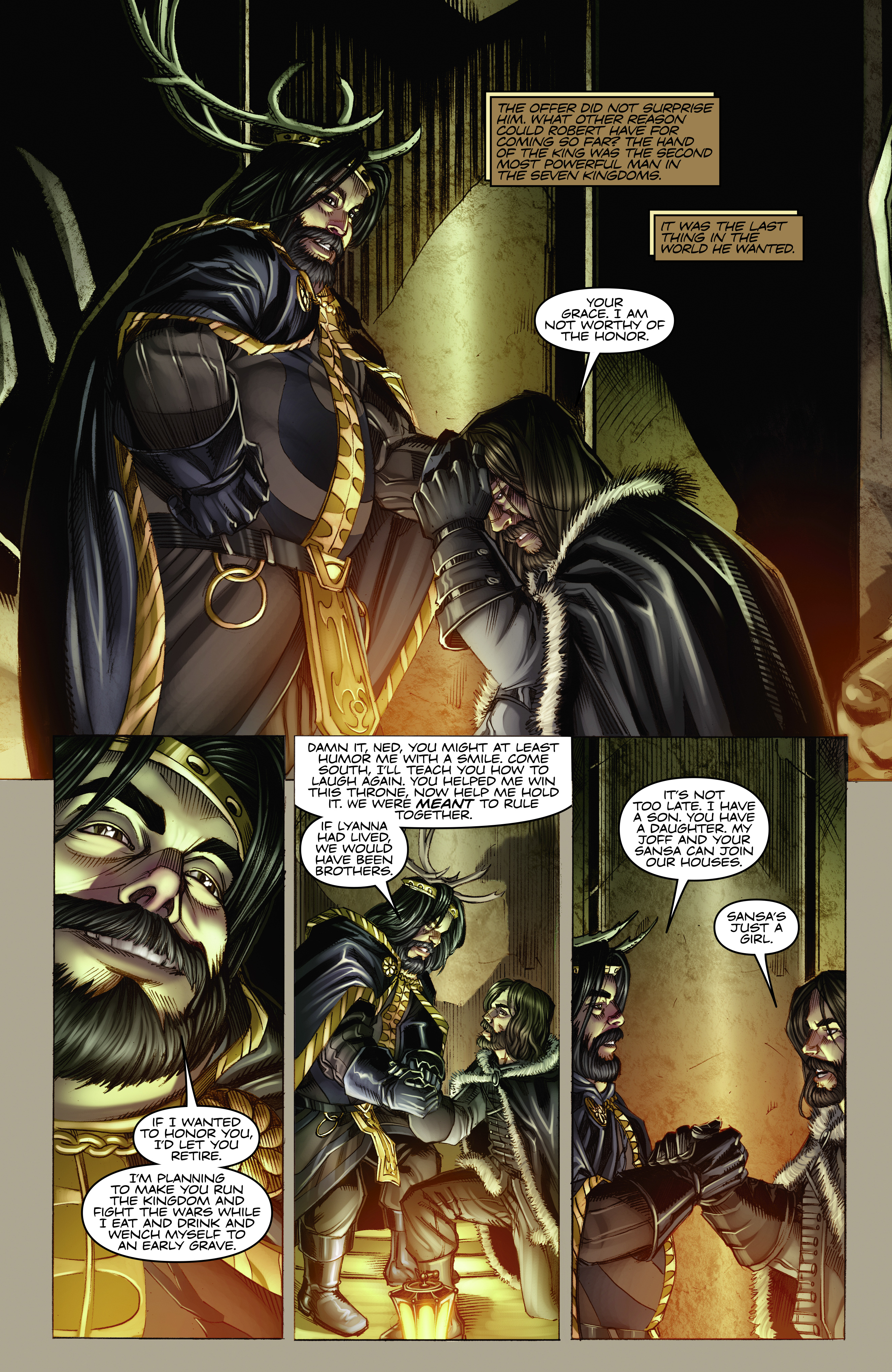 Read online A Game Of Thrones comic -  Issue #2 - 10