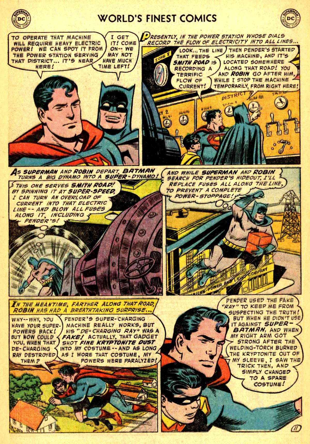 Read online World's Finest Comics comic -  Issue #77 - 13