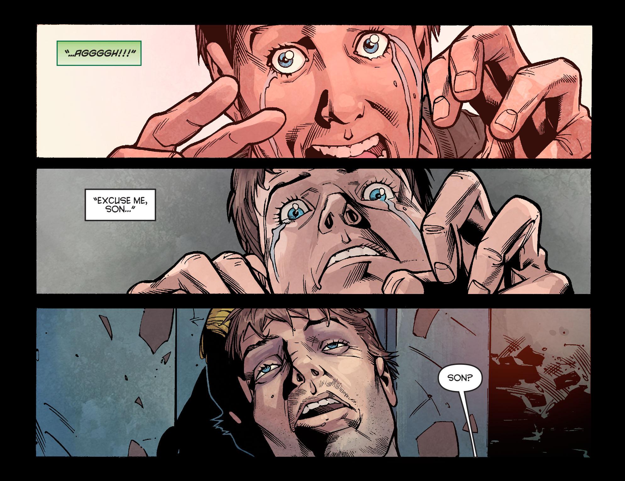 Read online Arrow: Season 2.5 [I] comic -  Issue #2 - 9