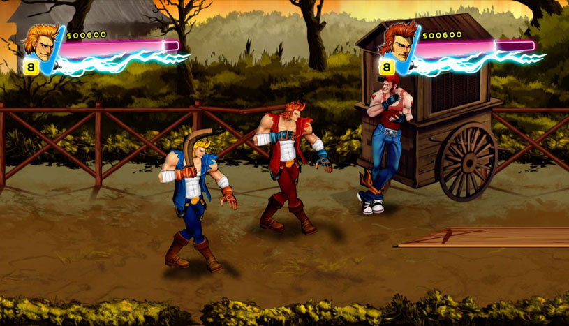 Review Double Dragon Neon Xbox 360 Digitally Downloaded