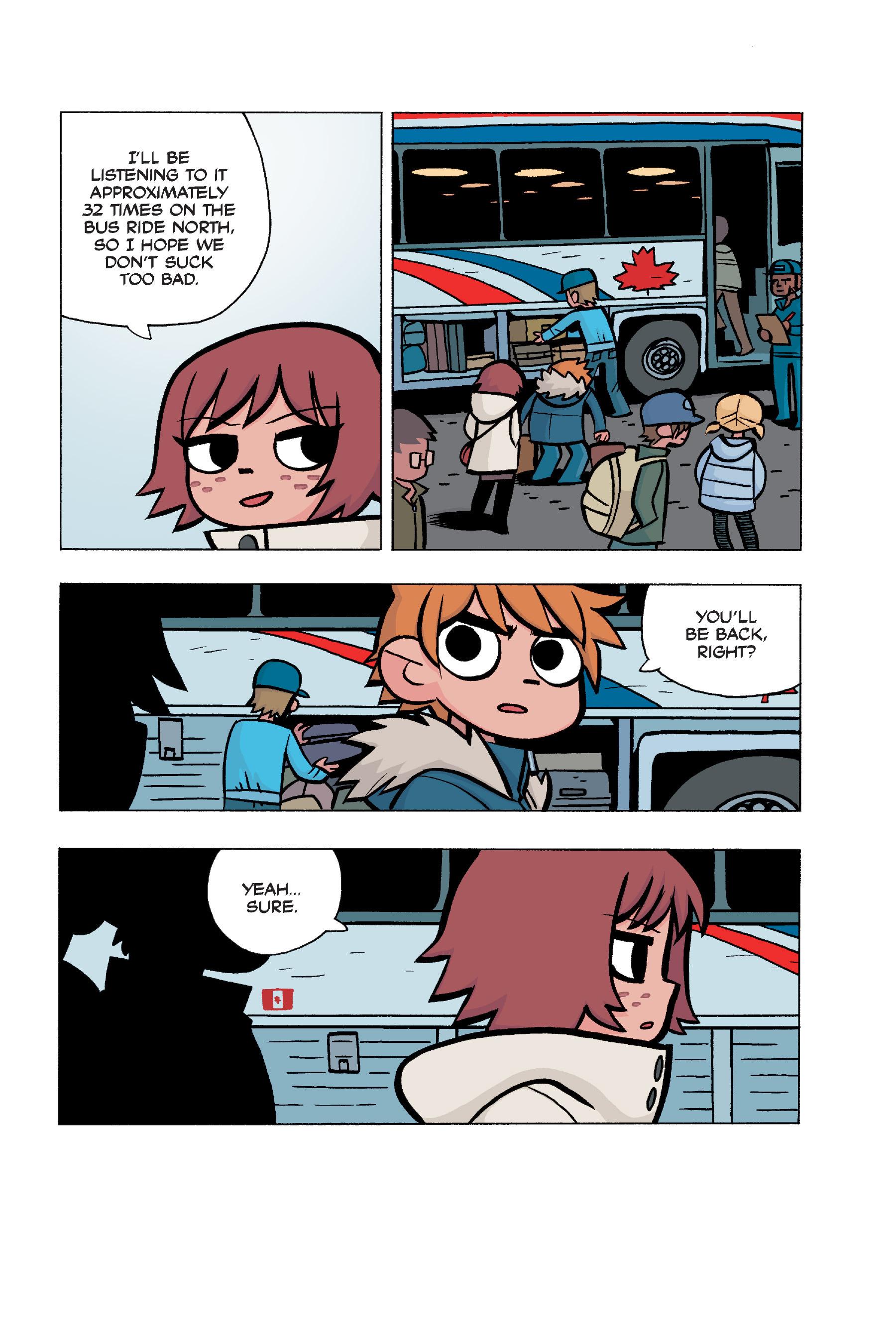 Read online Scott Pilgrim comic -  Issue #5 - 160