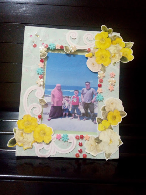 DIY Photo frame eno greeting
