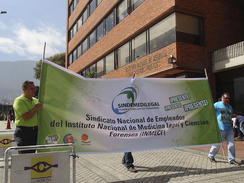 Balance exitoso de Sindemedilegal en las marchas del Paro Nacional Estatal