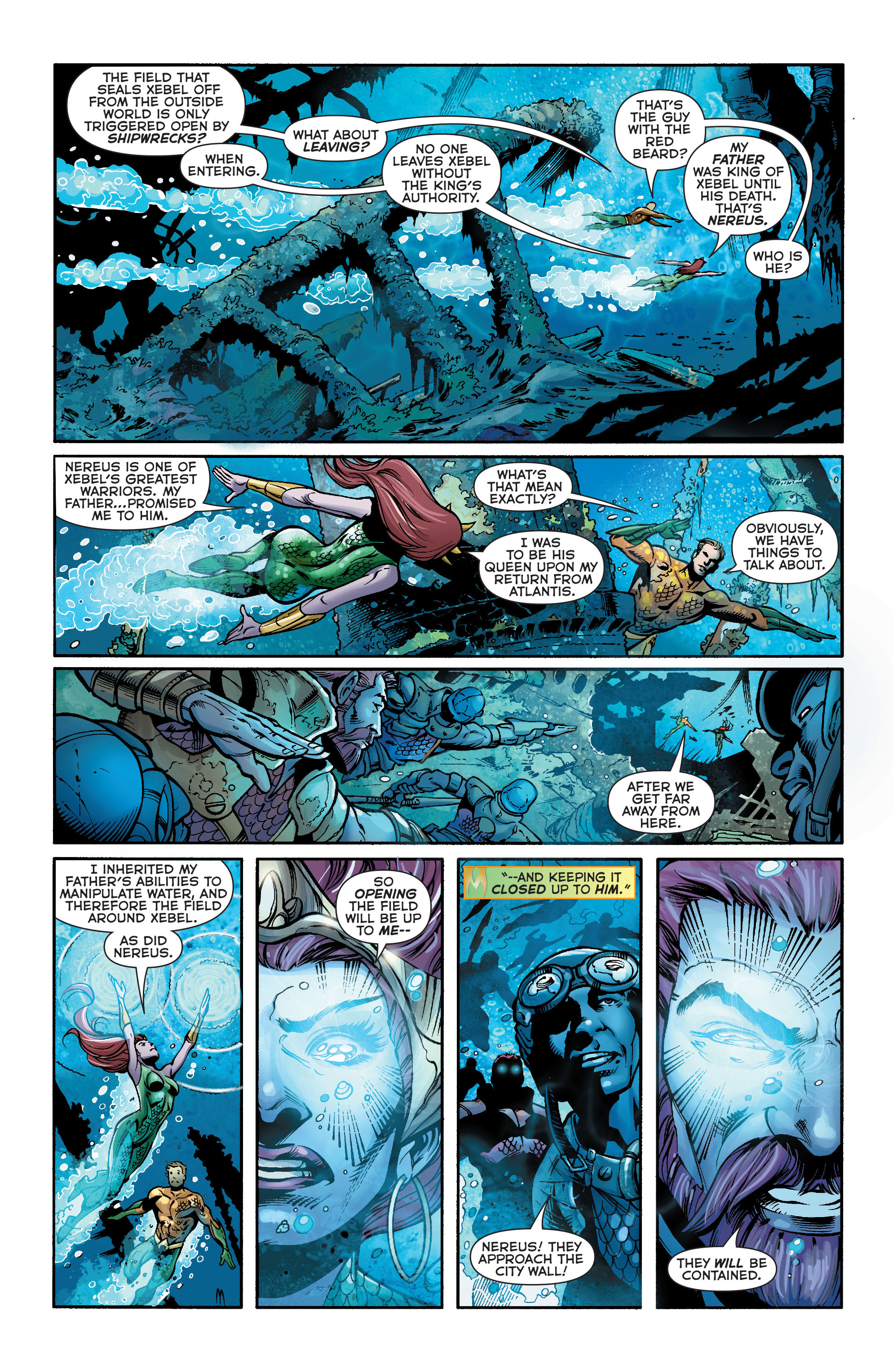 Read online Aquaman (2011) comic -  Issue #23 - 4