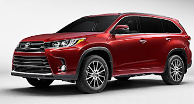 Toyota Kluger 2017 Specs, Redesign And Release Date