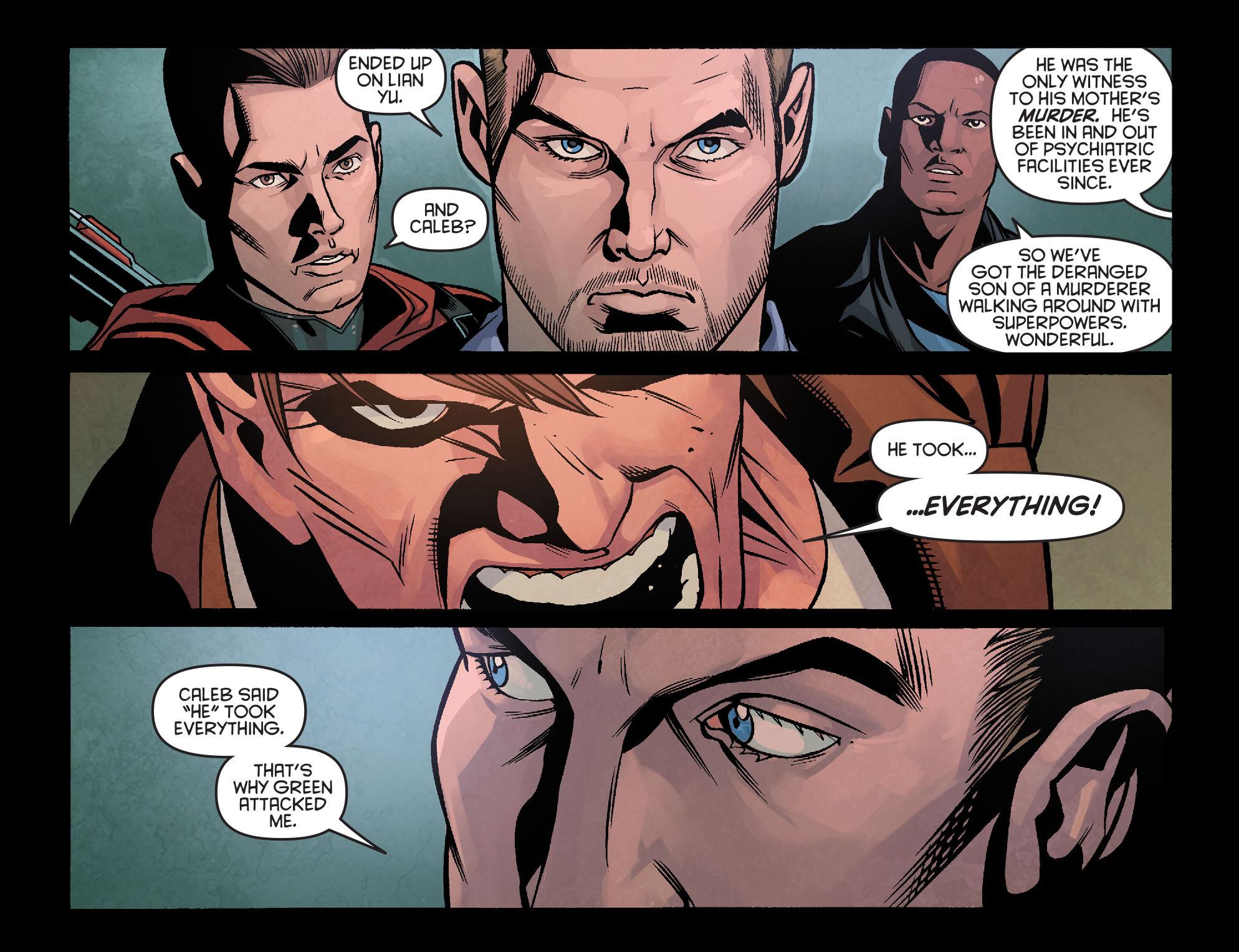 Read online Arrow: Season 2.5 [I] comic -  Issue #18 - 18