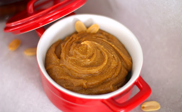 This Healthy Canadian Maple Peanut Butter Spread is full of peanut butter and pure maple flavor. You're bound to love it, whether you're Canadian or not!