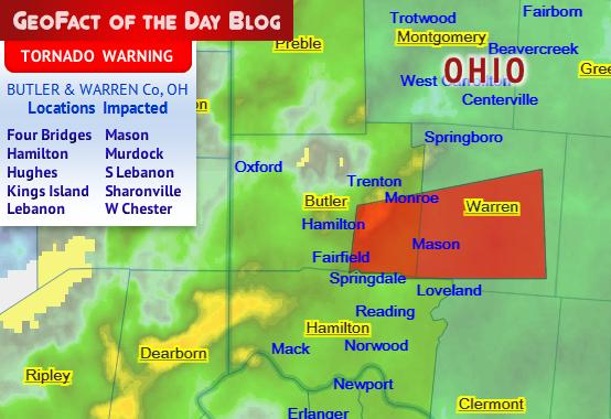 Geofact Of The Day 6 15 2019 Butler Amp Warren Counties Oh
