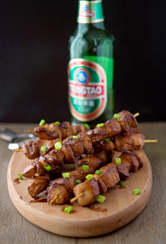 Beer-Flavored Chicken Teriyaki