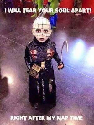 Hellraiser Pinhead Kids Costume