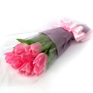buket bunga tulip kayon surabaya1