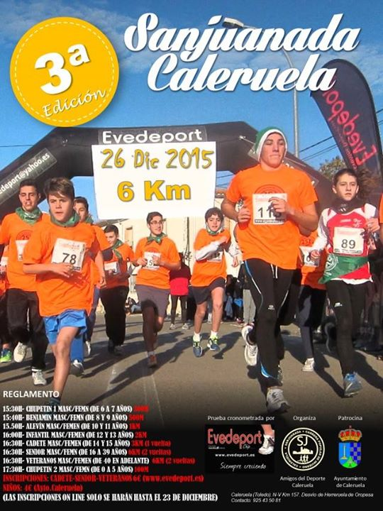 3ª Carrera Popular de Caleruela