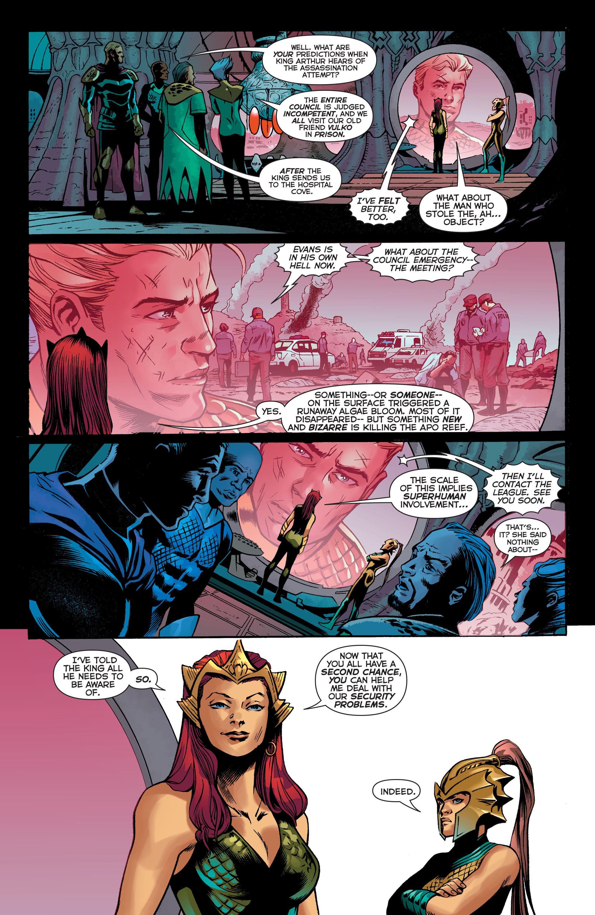 Read online Aquaman (2011) comic -  Issue #30 - 20