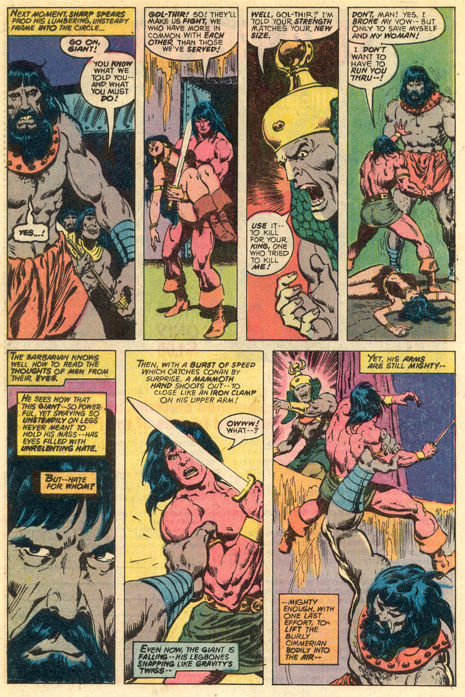 Conan the Barbarian (1970) Issue #77 #89 - English 15