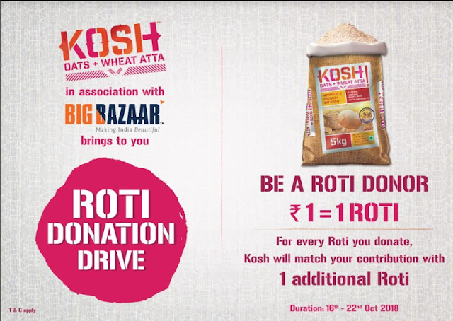 KOSH launches Roti Donation Drive on World Food Day