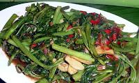 resep tumis kangkung saus tiram