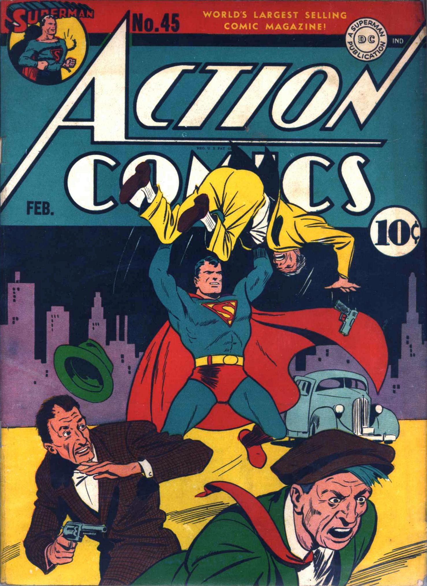 Action Comics (1938) 45 Page 1