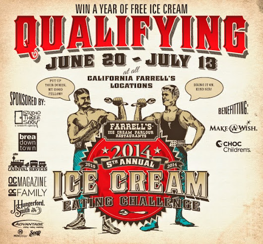 Farrell's 5th Annual Charity Ice Cream Eating Challenge!