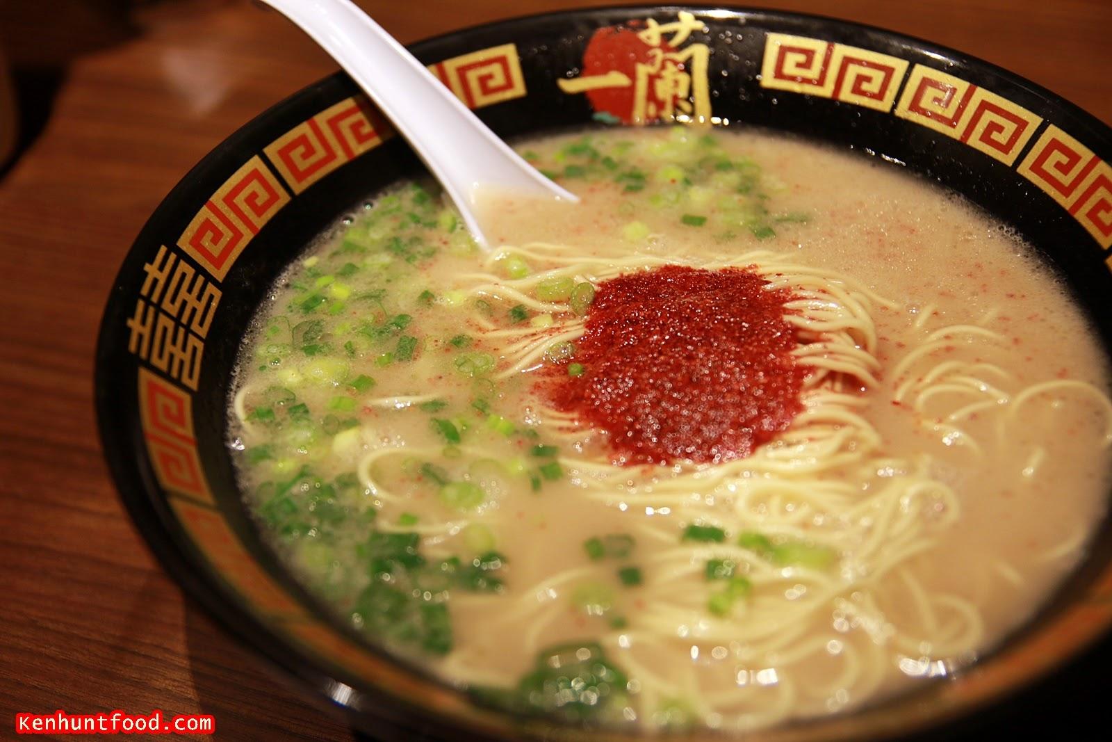 Ken Hunts Food: Ichiran Ramen (一蘭拉面) @ Causeway Bay (銅鑼灣). Hong Kong (香港)