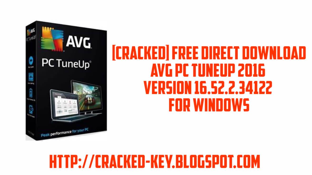 avg pc tuneup 2016 full crack