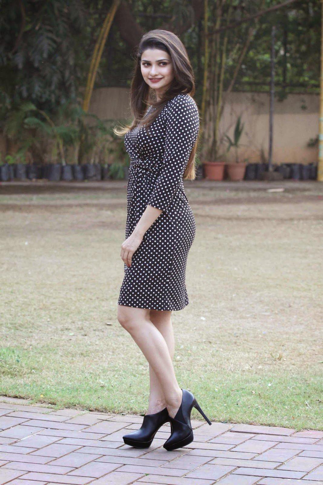 Prachi Desai Hot Photos In Black Dress
