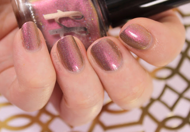 Femme Fatale Cosmetics Fractured Horizon Nail Polish Swatches & Review