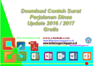 Download Contoh Surat Perjalanan Dinas Update 2016 / 2017 Gratis