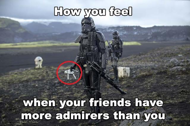 death trooper stormtrooper toy meme rogue one
