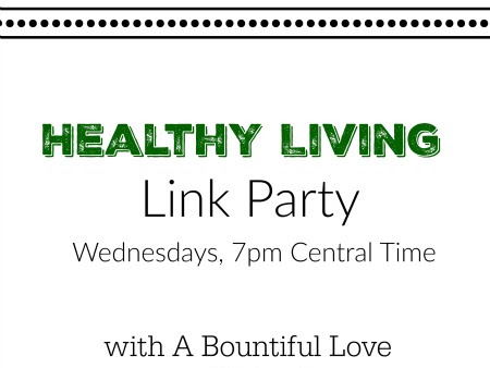 Healthy Living Link Party #40