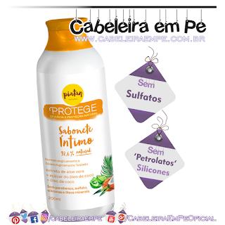 Sabonete Íntimo Protege - Piatan Natural (Sem Sulfatos, Sem Petrolatos e Sem Silicones)