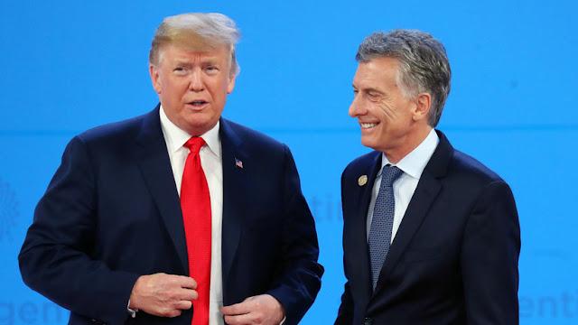 Trump habla con Macri y da su apoyo a la gestión del Gobierno argentino