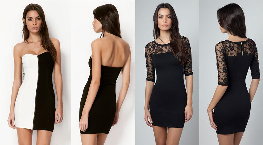 vestidos bershka - moda invierno 2013 2fe4c0a65fdf