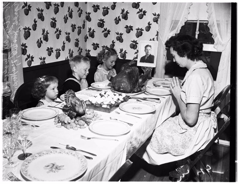 Here Is A Collection Of Interesting Snapshots That Shows People Posing With Their Grilled Turkeys In Thanksgiving Day The Past