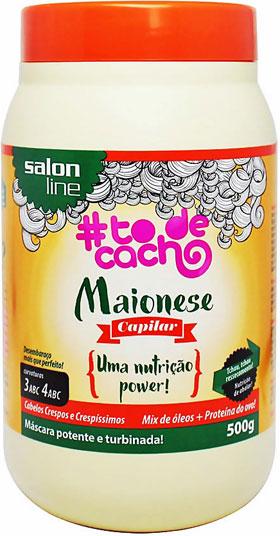 Maionese Capilar Nutrição Power tô de cachos Salon Line