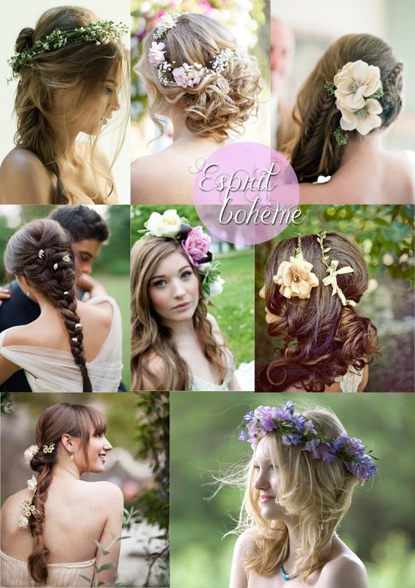 Inspiration Coiffure Une Mariee En Fleurs Le Blog Du Cheveu