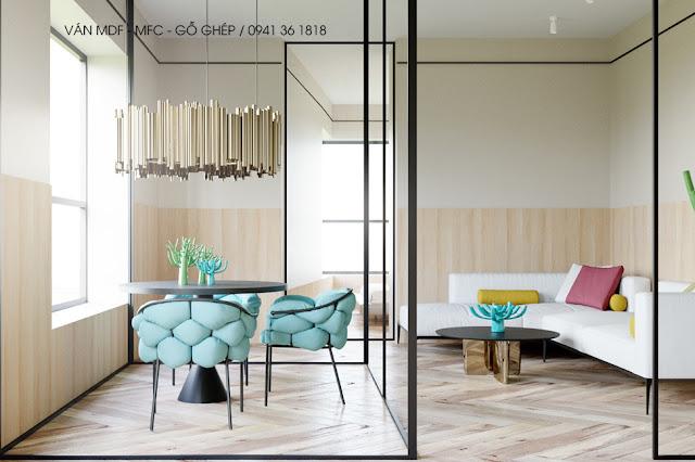 thiết kế nội thất cho mùa hè