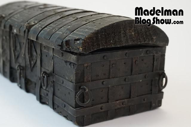 El cofre de El CID. Una miniatura a escala Madelman