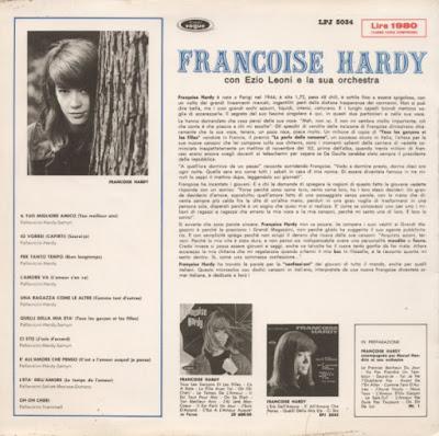 Françoise Hardy – In Italian